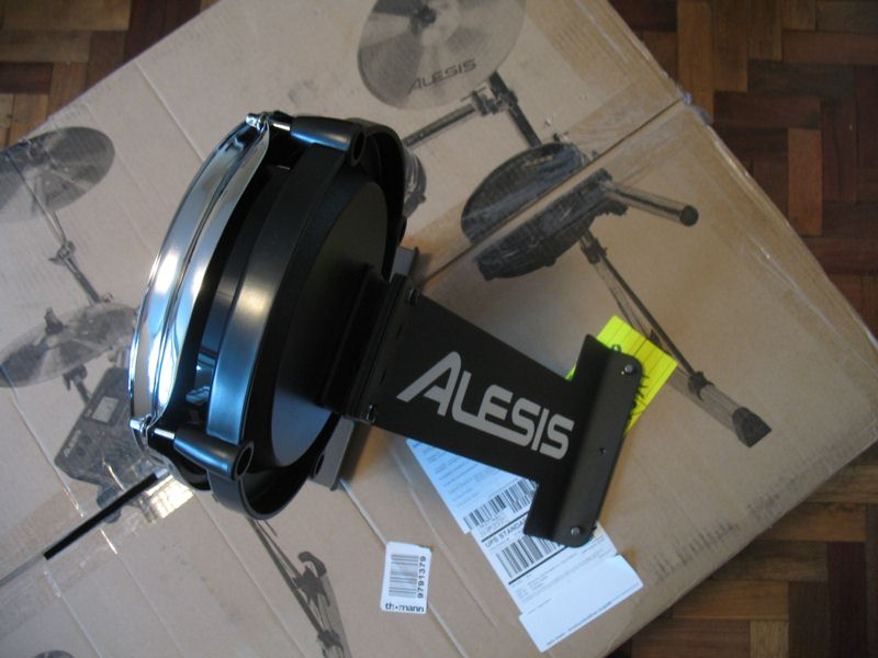 Alesis DM10 Pro Kit чуть больше чем резиновая женщина Электронные барабаны