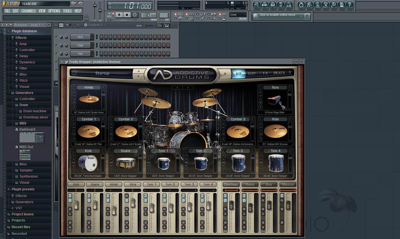 Скачать барабаны приложение на компьютер