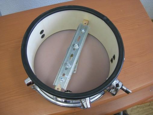 Кадушка из березы, регулировка натяжения пластика - все как у настоящего барабана.