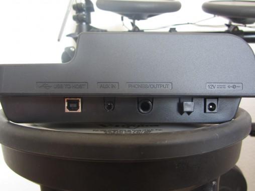 Входы на модуле Yamaha DTX400