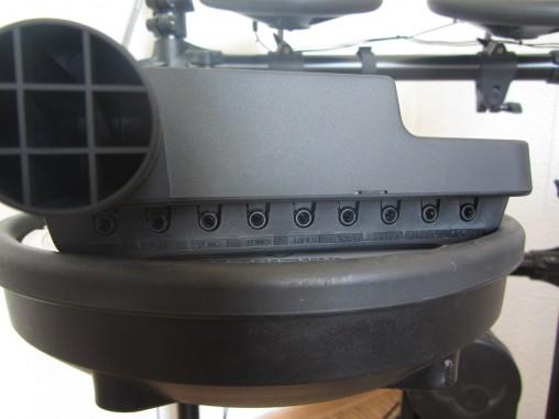 Разъемы модуля Yamaha DTX400