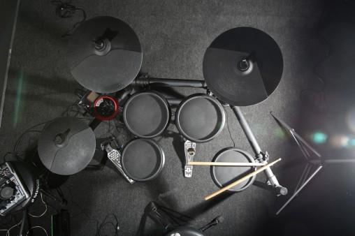 """Все пэды барабанов одинаковые: двухзонные 8"""""""