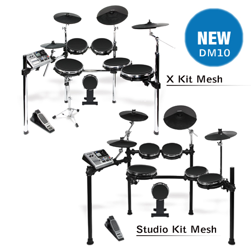 Alesis DM10 X Kit Mesh и Alesis DM10 Studio Kit Mesh
