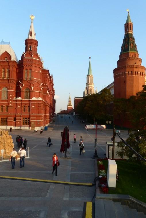 Завершающая прогулка по Москве!