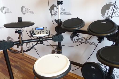 Пэды барабанов SKD230 не громкие с хорошим отскоком