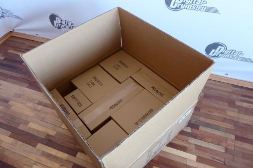 Все коробки подписаны