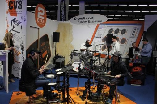 Электронные барабаны  с модулем 2 Box DrumFive