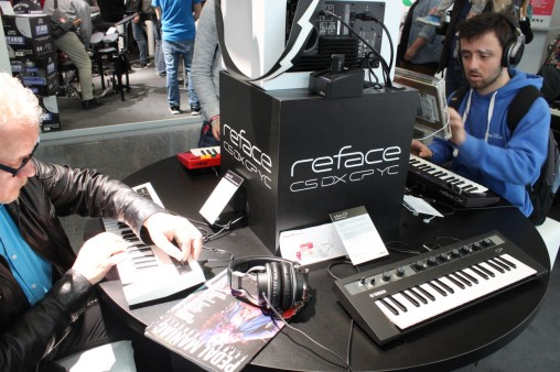 Павильон с клавишными: синтезаторы Yamaha