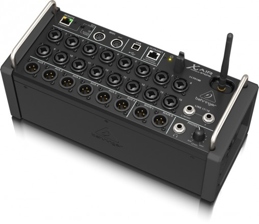 Цифровой микшер Behringer X Air XR18 в формате стейджбокса